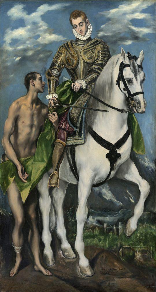 Св.Мартин и нищий (ок.1598) (Вашингтон, Нац. галерея)_