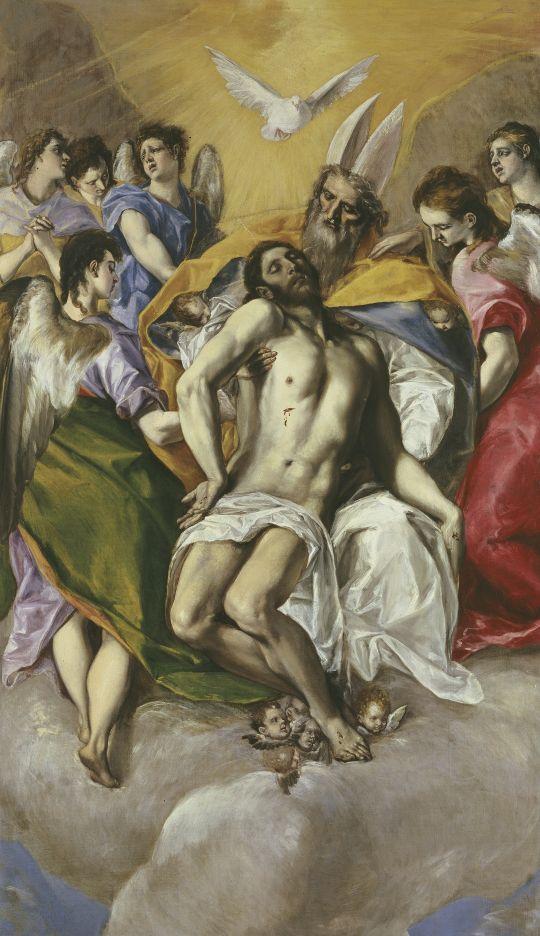 Св.Троица (1577-1579) (300 x 179) (Мадрид, Прадо)