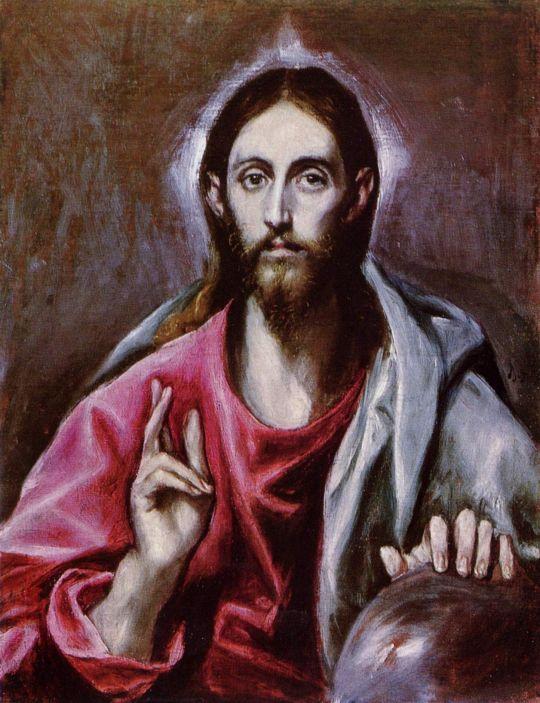 Христос-Вседержитель (ок.1600) (Эдинбург, Нац.галерея Шотландии)
