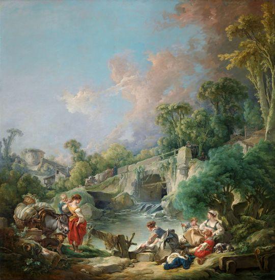 Прачки (1768) (Нью-Йорк, Метрополитен)