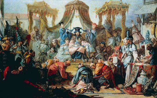 Китайский рынок (1742)