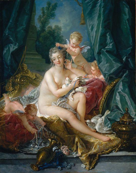 Туалет Венеры (1751) (108 х 85) (Нью-Йорк, Метрополитен)