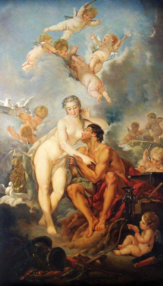Венера и Вулкан (1754) (71,5 x 164,5) (Лондон, Собрание Уоллеса)