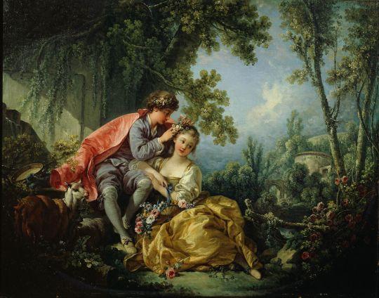 Четыре времени года. Весна (1755) (54.3 ? 72.7) (Нью-Йорк, коллекция Фрик)