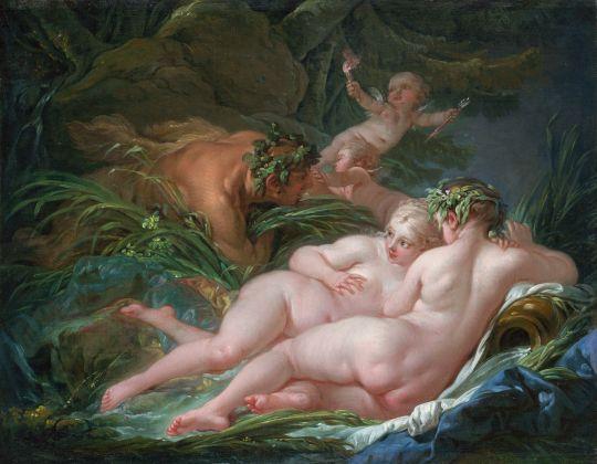 Пан и Сиринкс (1759) (41,9 x 32,4) (Лондон, Национальная галерея)