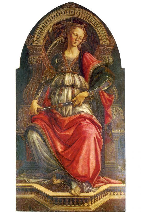 Стойкость (ок.1470) (167 x 87) (Флоренция, Уффици)