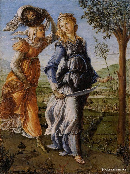 Возвращение Юдифи (ок.1472) (31 x 24) (Флоренция, Уффици)