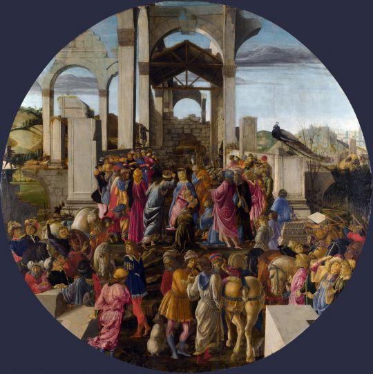 Поклонение волхвов (1470-1475) (132 см) (Лондон, Нац.галерея)