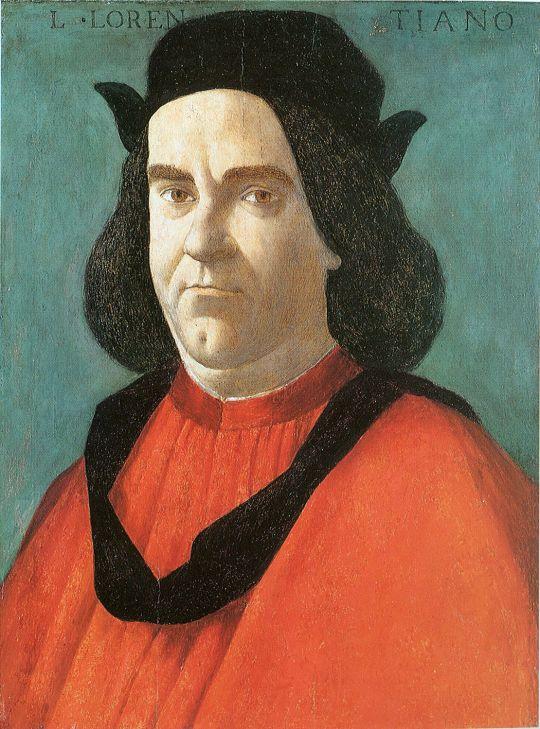 Портрет Лоренцо (1490-1495) (Филадельфия, Музей исусства)