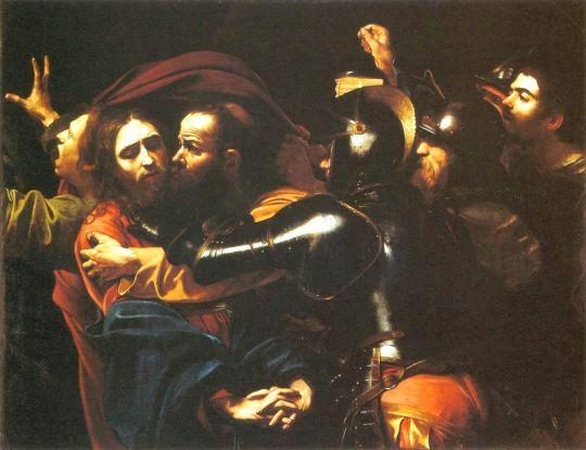 Взятие Христа под стражу, 1602