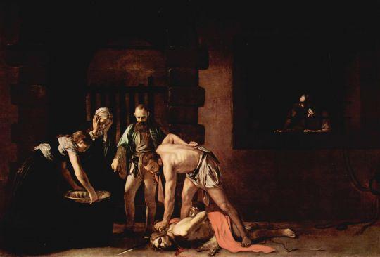 Казнь св. Иоанна баптиста, около 1608