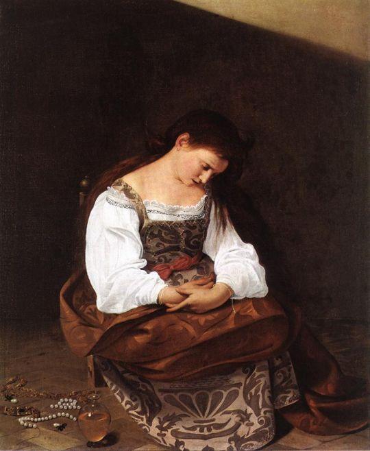 Кающаяся Мария Магдалина, 1594-1596