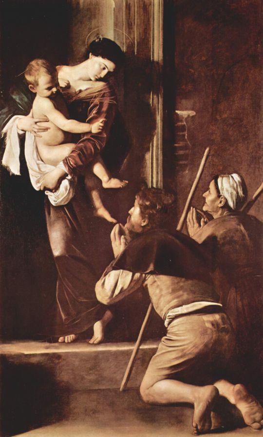 Мадонна пилигримов, 1605
