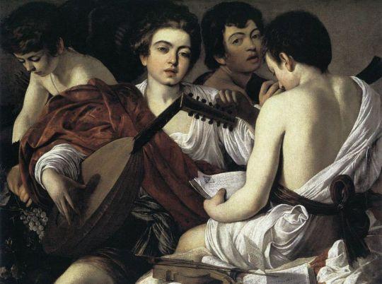 Музыканты, 1595-1596