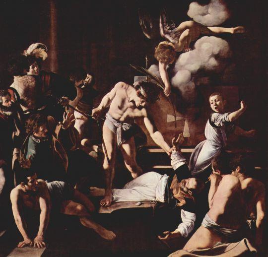 Мученичество св. Матфея, 1600