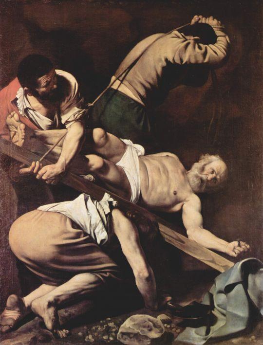 Мученичество св. Петра, 1600-1601