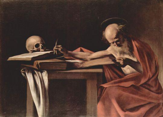 Пишущий св. Иероним, 1605-1606