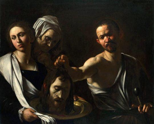 Саломея с головой Иоанна Крестителя, 1610
