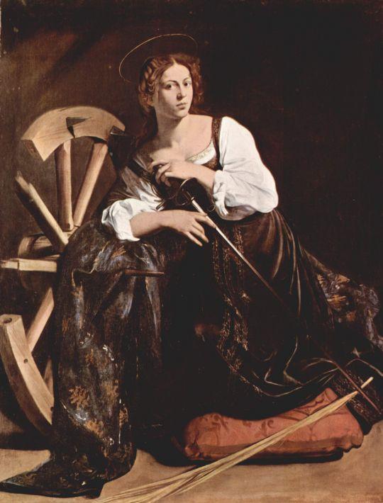 Св. Екатерина Александрийская, 1596