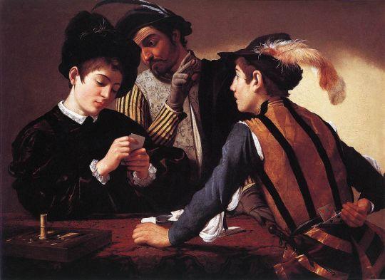 Шулеры, 1594