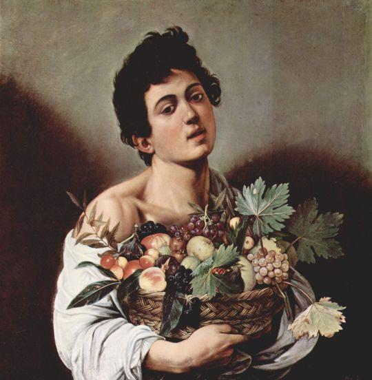 Юноща с корзиной фруктов, 1594