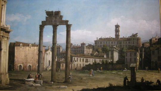 Руины суда в Риме (1743)