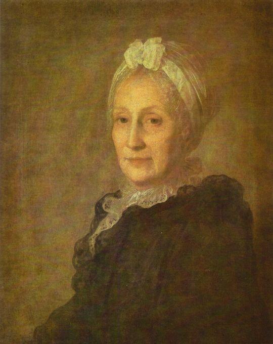 Портрет А.Ю. Квашниной-Самариной. Первая половина 1770-х