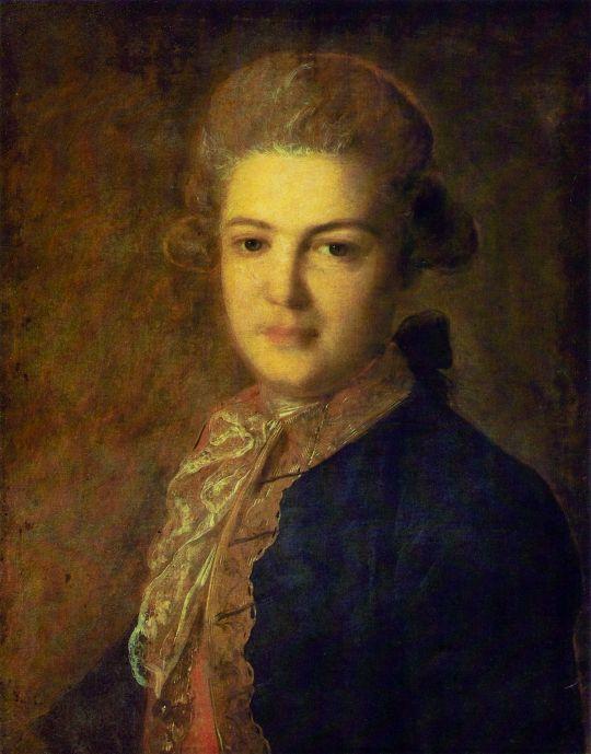 Портрет графа А.И. Воронцова. Около 1765