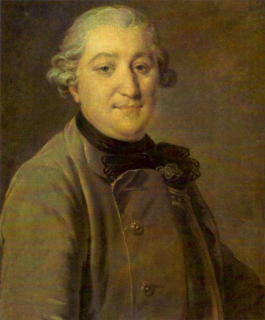 Портрет графа И.Г. Орлова. Между 1762 и 1765
