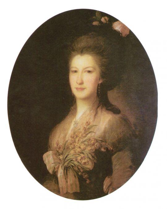 Портрет графини Е.В. Санти, рожденной Лачиновой. 1785