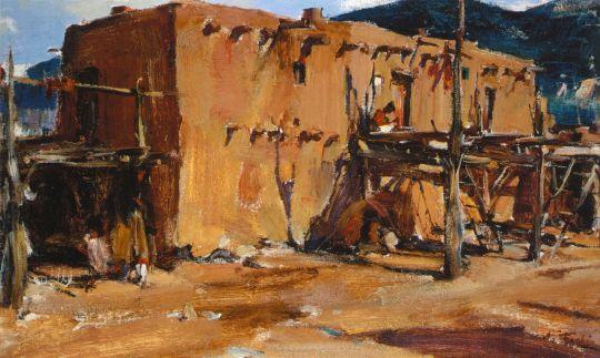 Адобе (Дом в Таос Пуэбло) (1927-1933)