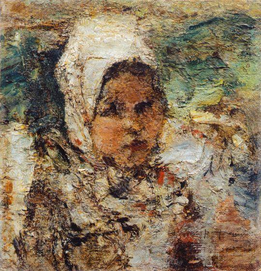 Головка девочки. Этюд (1912)