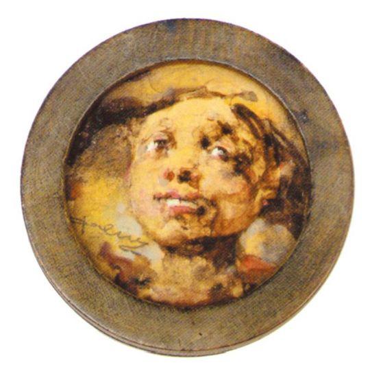 Головка мальчика (Салаватулла) (1920—1922)
