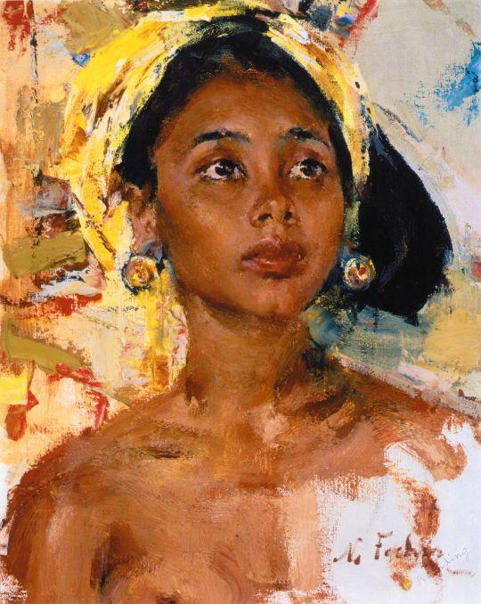 Девочка с острова Бали (После 1938)