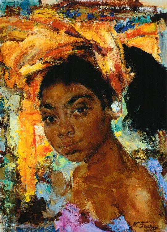 Девушка с острова Бали (После 1938)