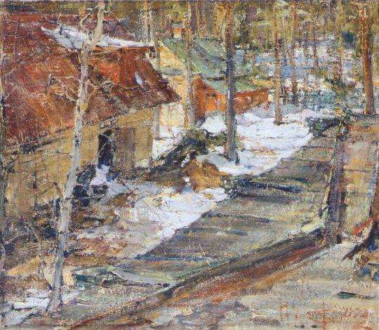 Зимний пейзаж (1900-е)