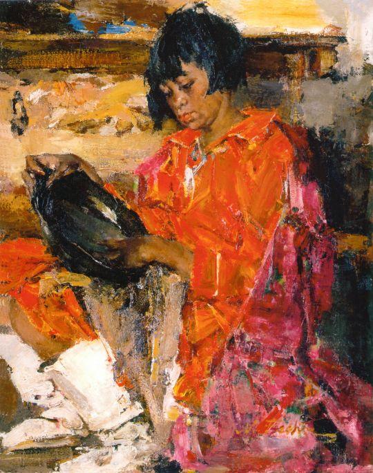 Индейская девочка с кувшином (1927—1933)