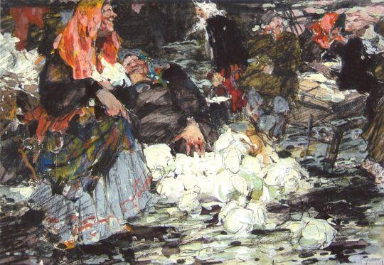 Капустница. Эскиз (1909) 3