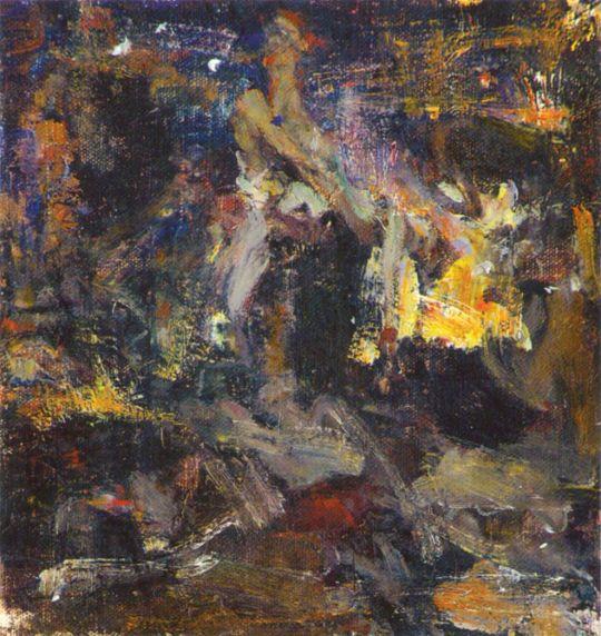 Кузница. Эскиз (1920—1923)