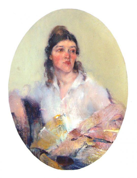 Портрет жены (1918—1922)
