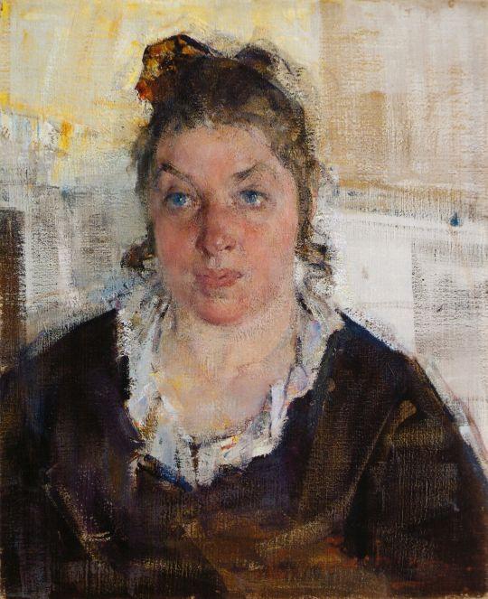 Портрет Маруси (Марии Никифоровны) Бурлюк (1923)