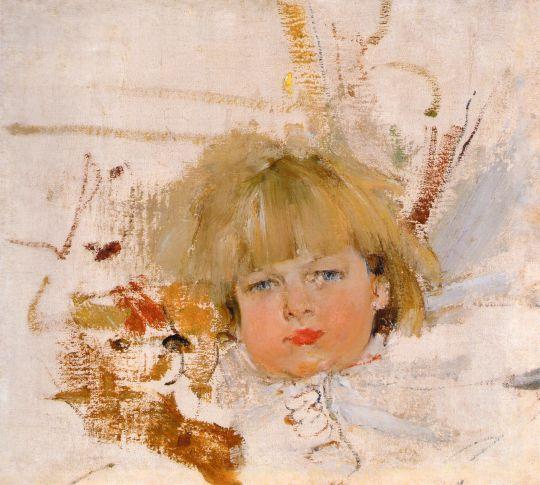 Портрет Миши Бардукова (1914)