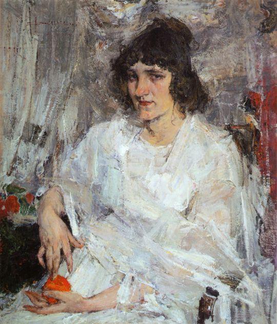 Портрет Ульяны Китаевой (1912)