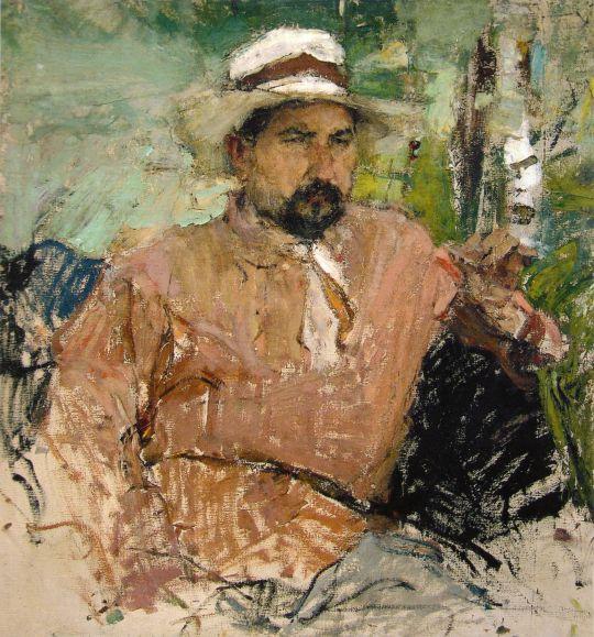 Портрет художника Г.А.Медведева (1912)