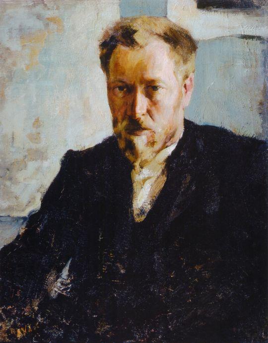 Портрет художника Н.К.Евлампиева (1905)