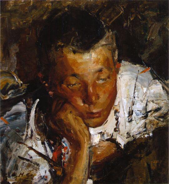 Портрет чувашского мальчика (1900-е)