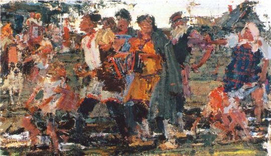 Русский эскиз (Сер. 1910-х)