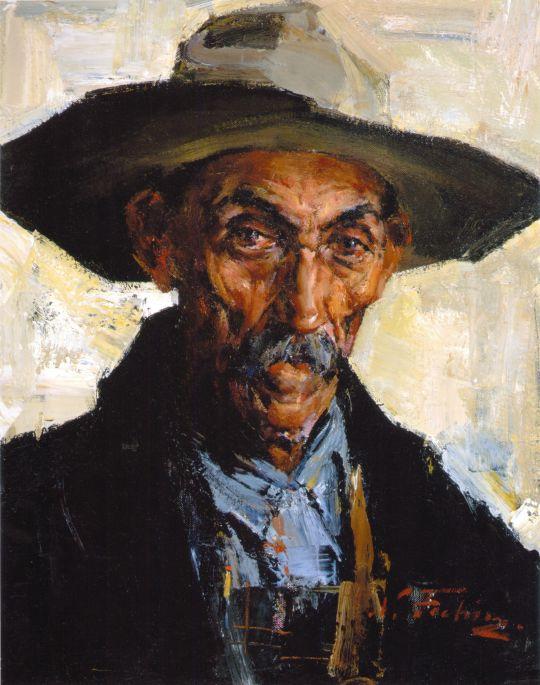 Старик в серой шляпе (1934—1955)