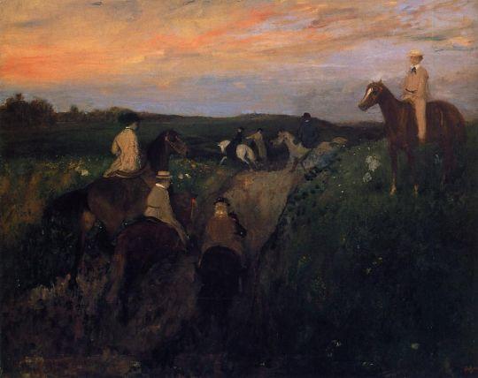 Прогулка (1866-1868) (Хиросима, Музей искусств)