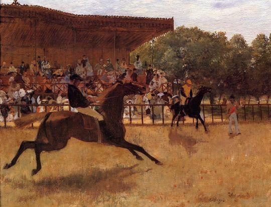 Фальстарт (1869-1870) (Йельский универс., худ.галерея)